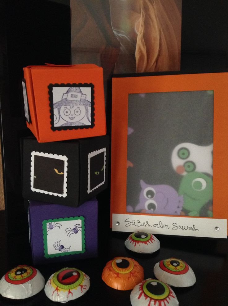Heute habe ich die Projekte meines Kinder-Workshops zum Thema Halloween für euch. Liebe Kids, es war wieder einmal ein toller Nachmittag. Gruselige Grüße Iris