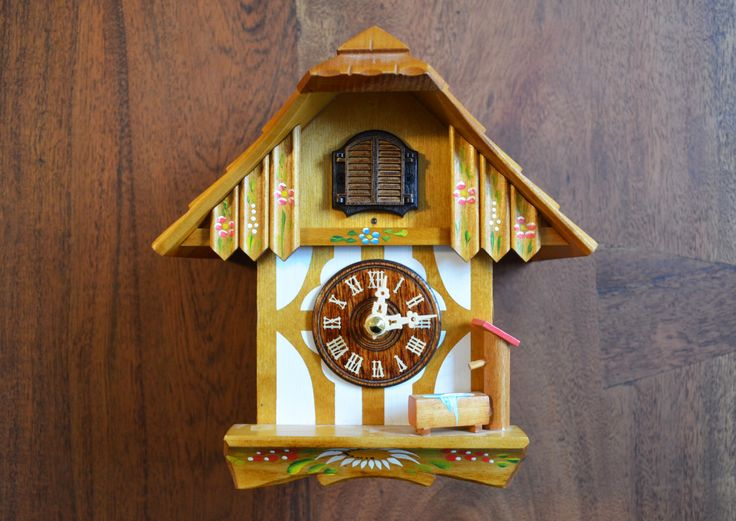 West Germany Cuckoo Clock - Made in Germany, Bavarian Black forest Mid Century by Trashtiques on Etsy https://www.etsy.com/ca/listing/489286288/west-germany-cuckoo-clock-made-in