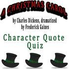An alternative choice from a traditional test! 11 quotes from the Frederick Gaines dramatization of A Christmas Carol and student have to read carefully to identify which character said each quote.  Key included.