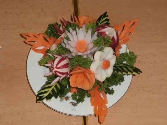 zeleninový talířek