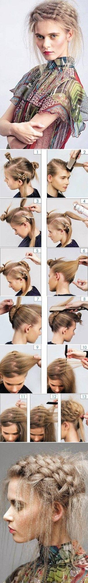Technique de coiffure comment gaufrer ses cheveux avec un fer à lisser ou un fer à gaufrer, à lisser, avec ou sans fers ure cheveux longs, mi longs, courts.