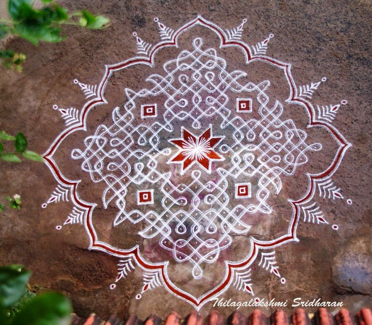 Rangoli and Art Works: MARGAZHI KOLAM 2013