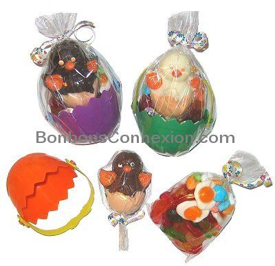76 best easter baskets cadeaux pques images on pinterest assortment of easter chocolate and candy gift baskets negle Gallery