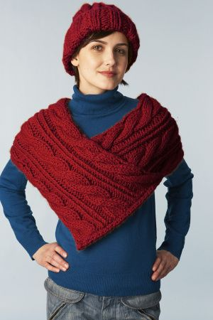 Cabled Wrap