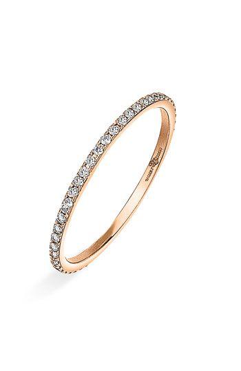 Ivanka Trump 'Black & White' Thin Diamond Ring. This is gonna be mine soon(: thumb ring it issss(: