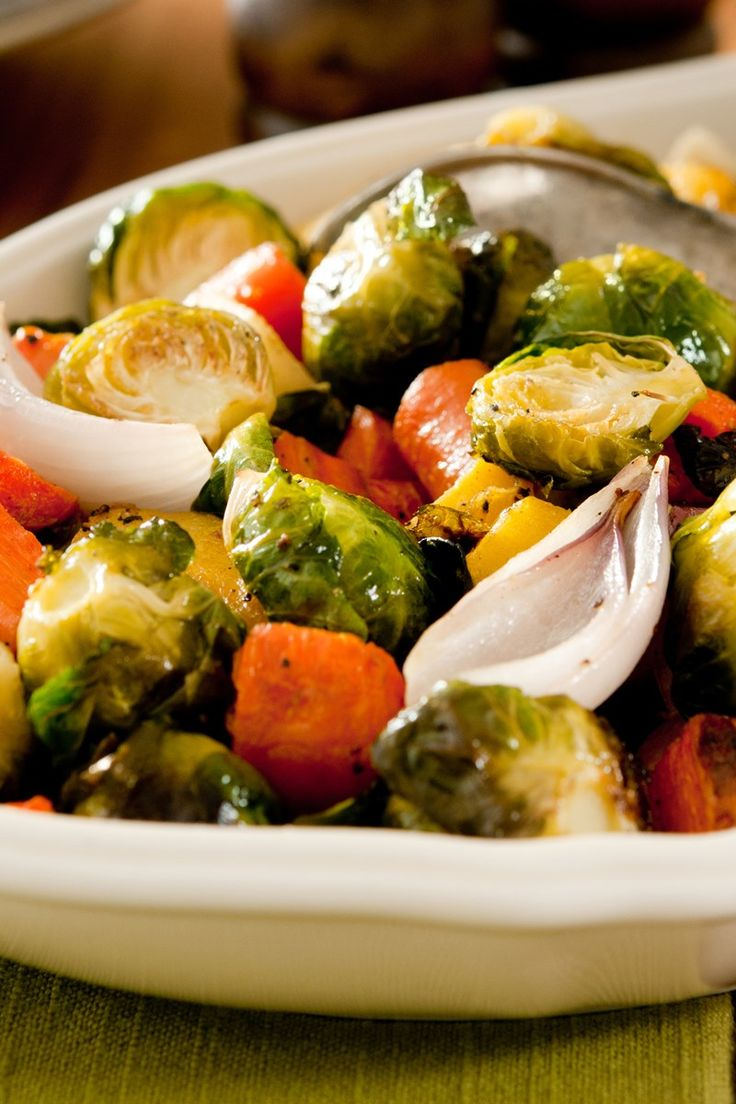 Roasted Potatoes, Carrots, Parsnips, and Brussels Sprouts Recipe
