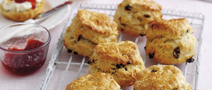 Mary Berry, the queen of baking shows us the perfect fruit scones recipe that is so light, fluffy and easy to make. Read full recipe here.