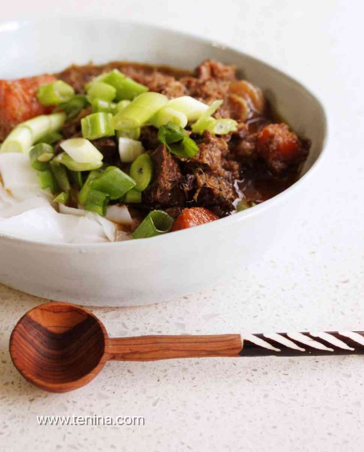 Thermomix recipe: Spicy Ginger Beef Stew with Lemongrass · Tenina.com