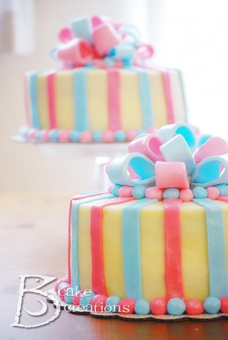 gender reveal cakeShower Ideas, Gender Reveal Parties, Baby Cake, Parties Ideas, Cake Boss, Gender Reveal Cakes, Pink Cake, Baby Shower Cake, Baby Shower