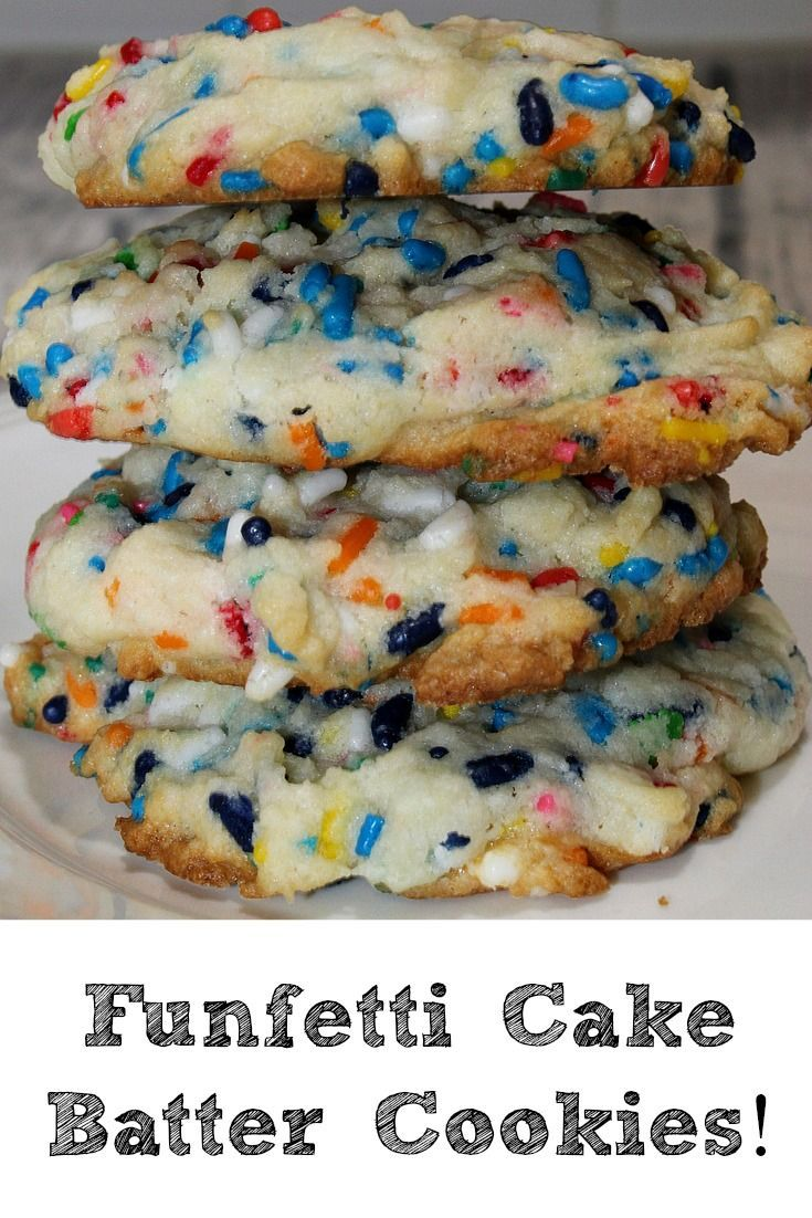 These Funfetti Cake Batter Cookies are a huge hit with families and at potlucks. Theya re frugal and easy to make, plus they taste amazing as well.