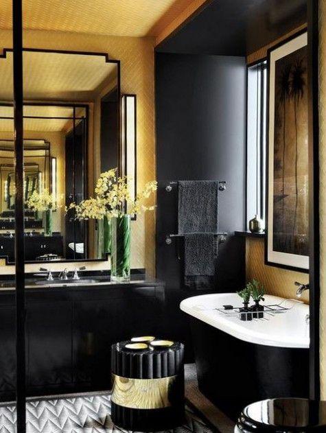 ComfyDwelling com   Blog Archive   84 Stylish Masculine Bathroom Design  Ideas. Best 25  Masculine bathroom ideas on Pinterest   Hex tile  Black