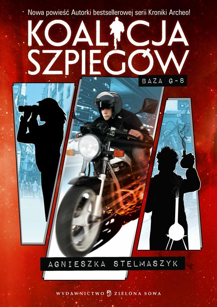 Najnowsza książka Agnieszki Stelmaszyk charakterem nawiązująca do przygód młodego Jamesa Bonda!  Wejdź na www.agnieszkastelmaszyk.pl