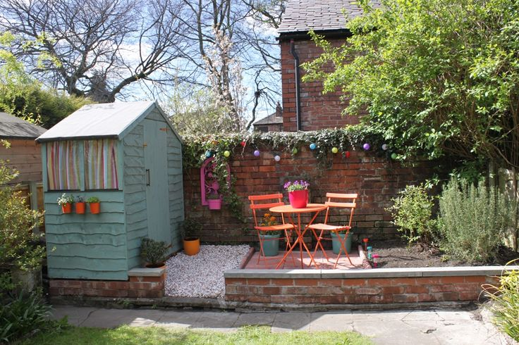 Before and After:  Weekend Back Garden Blitz Part III – The Reveal!!