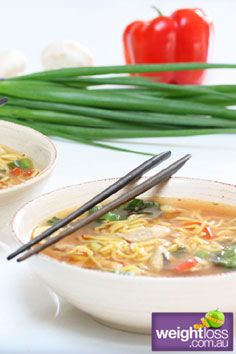 Healthy Lunch Recipes: Chinese Combination Soup - weightloss.com.au