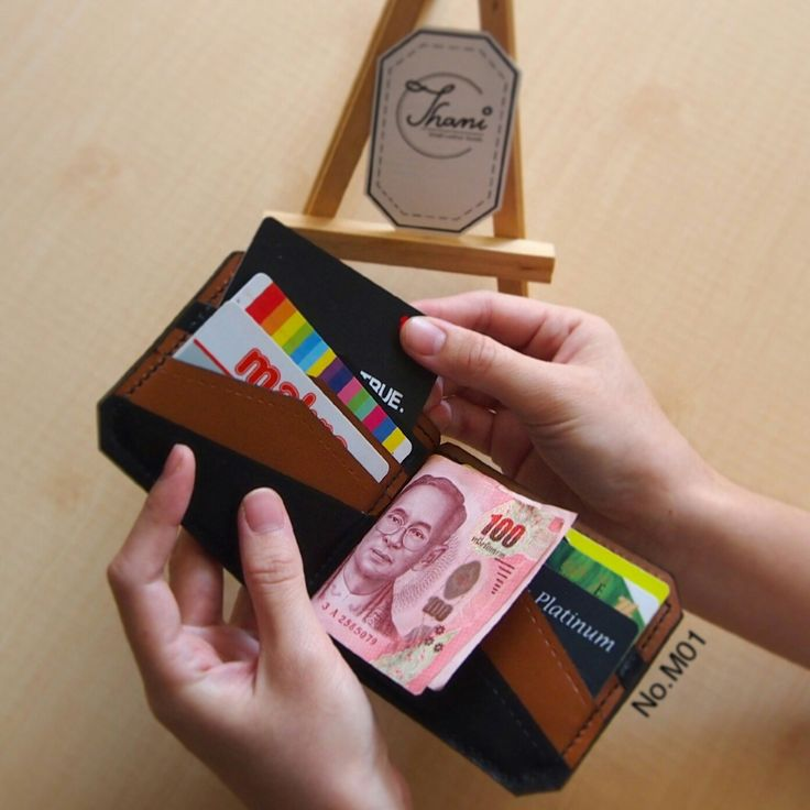 Leather money clip wallet can keep 10 cards. It has a function, can keep 2 cards;  the outside of wallet for more convenient lifestyle. This money clip wallet is designed the playful colors inside, has 2 colors for look more beautiful and useful.