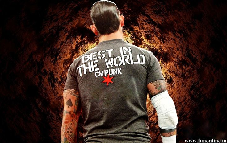 CM Punk WWE Champion