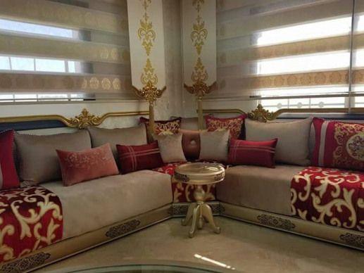 moroccandecor #moroccan #decor #sofa   Bunglow in 2019 ...