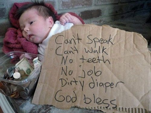 Seriously, I laughed out loud & woke up the baby!