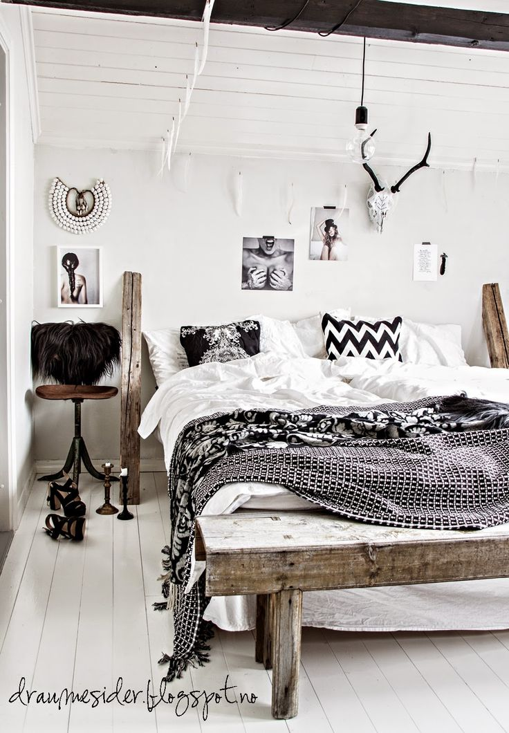 1000 ideas about black white bedrooms on pinterest - Black and white bedroom decor ideas ...
