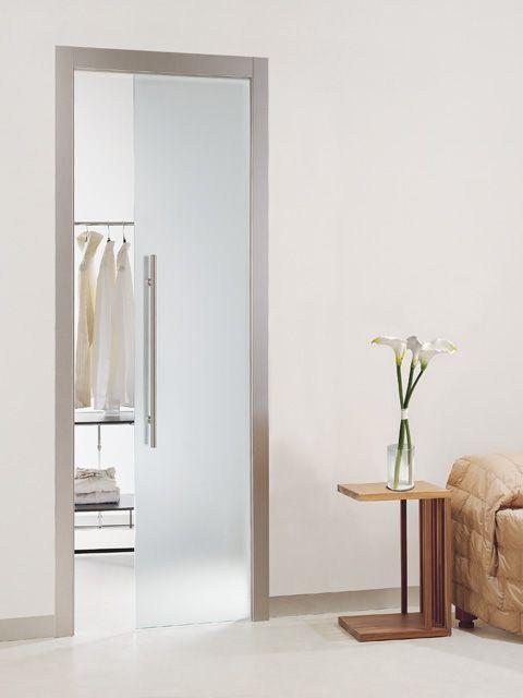 Las 25 mejores ideas sobre puertas correderas de cristal for Puerta corredera cristal