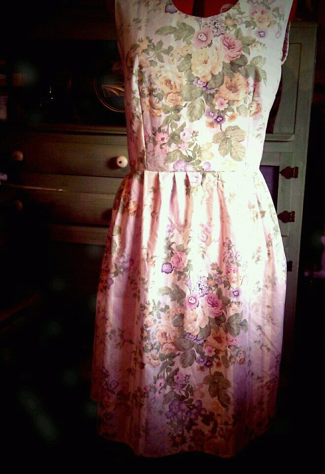 "Vintage Roses ""Grace of Autumn"" Country Dress"