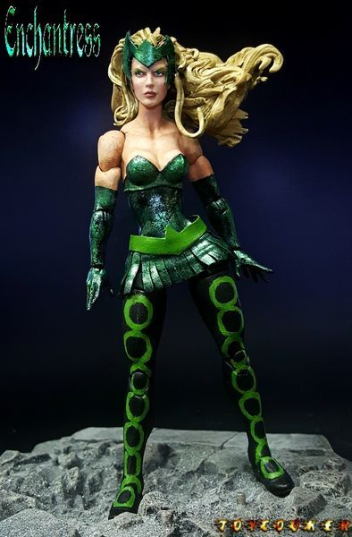 updated marvels enchantress by - photo #35