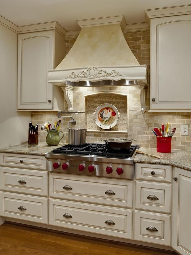 Decorative range hood kitchens pinterest for Decorative stove hood