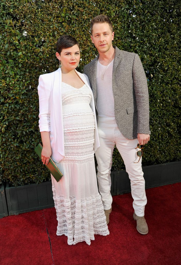 Ginnifer Goodwin and Josh Dallas at John Varvatos 13th Annual Stuart House Benefit Presented by Chrysler With Kids' Tent by Hasbro Studios