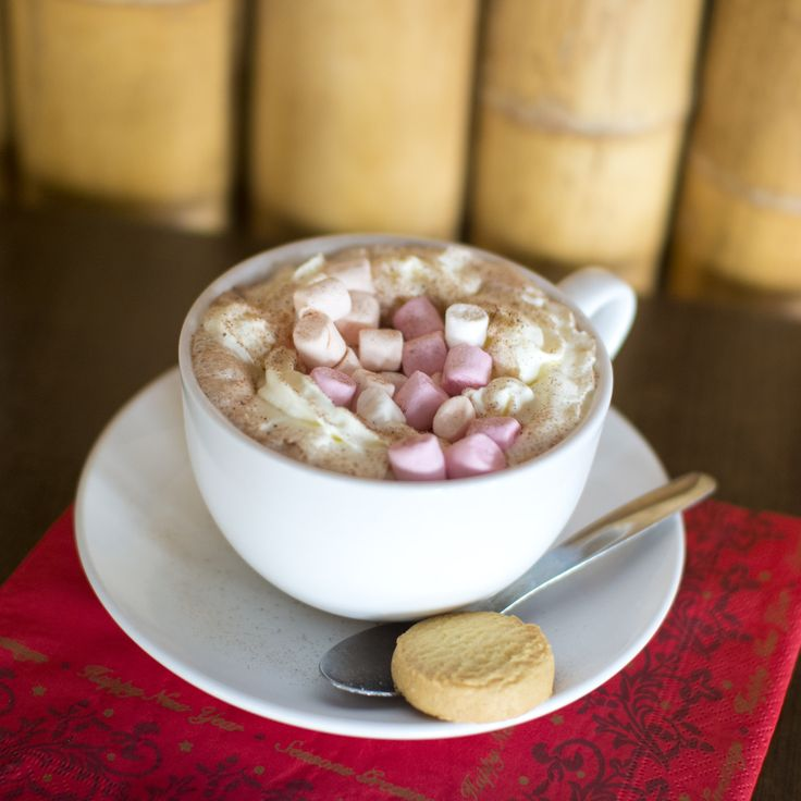 What's more indulgent than a luxury hot chocolate, expertly made by Charlie in our Aztec Bistro?! #TLHhotels