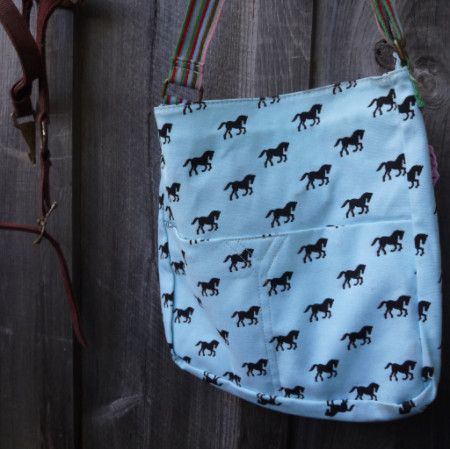 The Giddy Up and Go Messenger Bag - Pony Express Girls Canada - 6