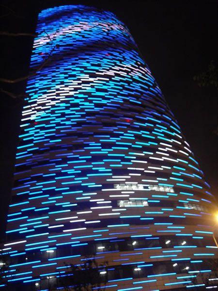 LED Linear Light | Facade Illumination | StrongLED Project