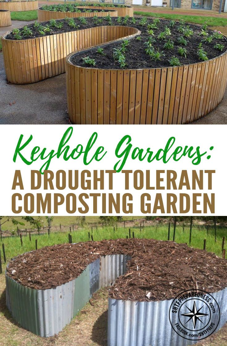 163 best GARDEN RAISED BEDS Keyhole garden images on Pinterest