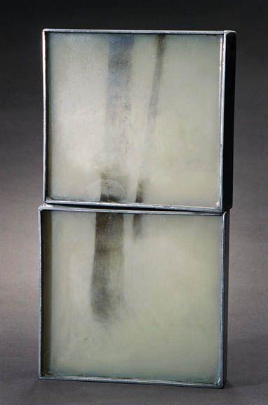 https://flic.kr/p/8vD7m2   Michelle Stitz   Golden Forest III, 2008 Oil in resin Retail: $1400 Courtesy of the Artist Artist's Website