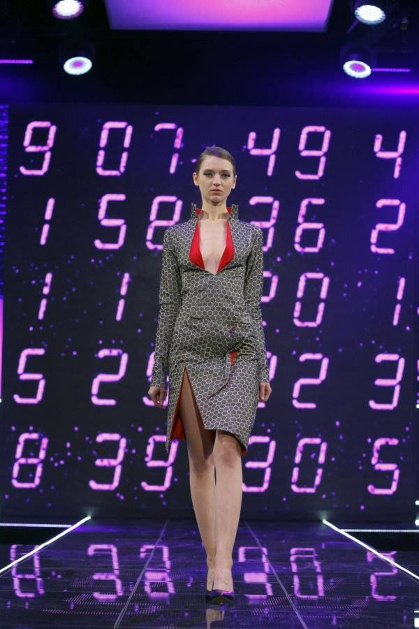 Diana in PROJECT RUNWAY POLAND