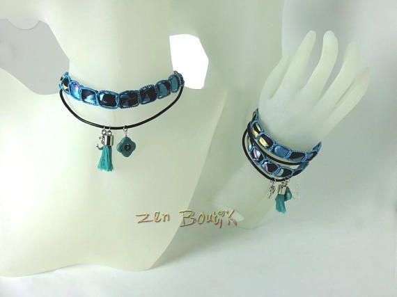 Collier ou Bracelet Zen 2 en 1 Zen Chic Multi rangs Zen
