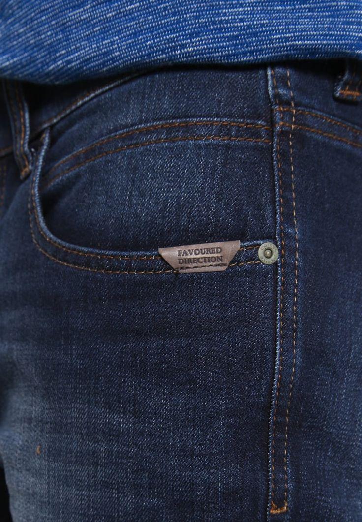 camel active HOUSTON - Straight leg jeans - dark blue demin - Zalando.co.uk