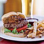 Smothered Steak Burgers Recipe   MyRecipes.com