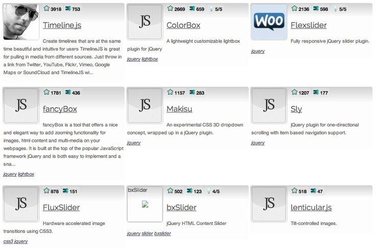 41 Javascript Sliders & Galleries