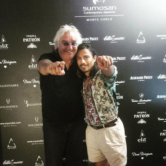 #FlavioBriatore Flavio Briatore: @nusr_et @briatoreflavio at @twiga_mc !#montecarlo #Twiga #twigamonaco