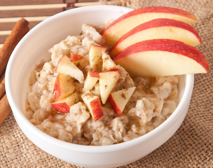 Fiesta Oats  Agave nectar and cinnamon sprinkled on oatmeal with chopped fresh apples and dried apricot, chopped almonds and a little organic almond milk and of course some cinnamon! That can't be bad!  #healthyfood #healthyrecipes #oatmeal #eatclean #recipes #cleanrecipes #breakfast #easyrecipes