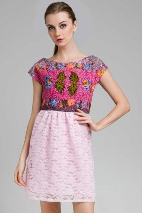 Batik Dress | Batik Gendongan | Lace Dress