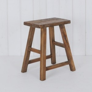 Elm milking Stool from Provincial Home Living