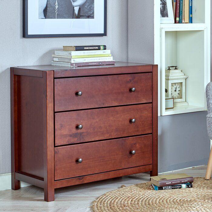 Amesfield 3 Drawer 31 5 W Dresser Upholstered Storage Bedroom Furniture Dresser Dresser Drawers