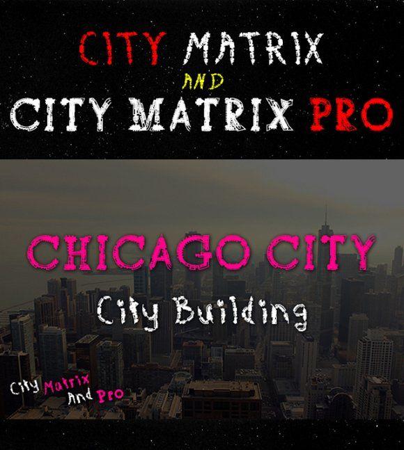 City Matrix with Pro Version by Emdaduljs on @Graphicsauthor