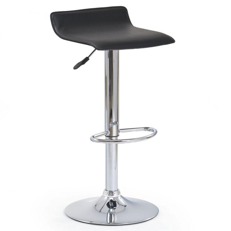 Barová židle Spring - černá