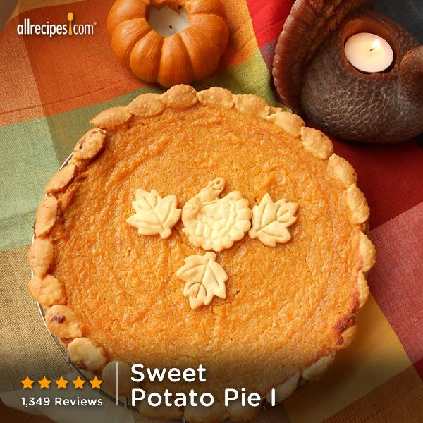 """People who have eaten sweet potato pie all their lives say this recipe is the best they have ever tasted."" —SL 