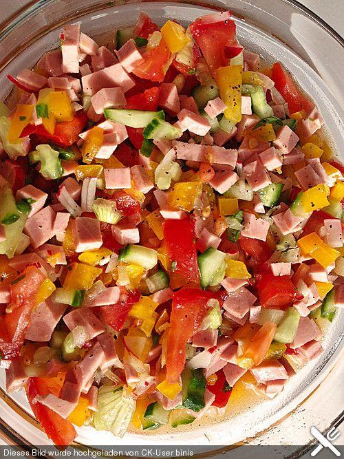 Riedericher Wurstsalat für den Sommer