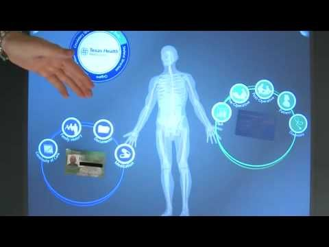 Microsoft Surface Demo for Patient Consultation (Interface by Infusion)