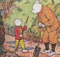 Rupert the bear story book
