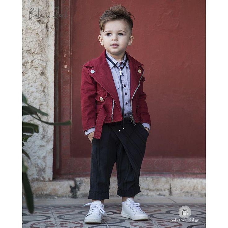 Βαπτιστικό Σύνολο για Αγόρια Baby U Rock 500709